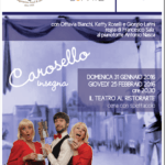 Carosello Insegna cena teatro Il Margutta